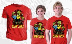 Cool star trek shirt ;)