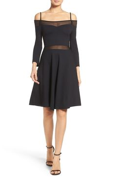 Main Image - French Connection Tatlin Off the Shoulder Dress
