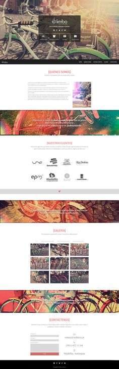 limbo-home. Portfolio Web Design