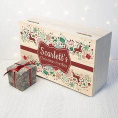 Personalised Traditional Christmas Eve Box, make this Christmas a special one with giftings.co.uk