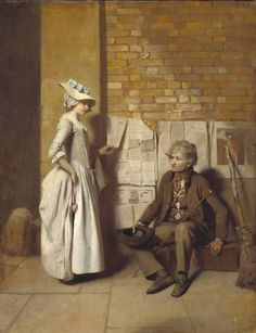 A Girl Buying a Ballad 1776 Henry Walton