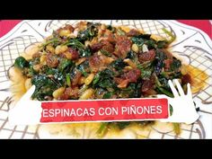 YouTube Chicken, Youtube, Food, Arrows, Spinach, Plate, Food Recipes, Healthy Meals, Legumes