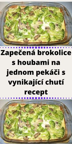 Czech Recipes, Ethnic Recipes, Vegetable Recipes, Guacamole, Green Beans, Good Food, Food And Drink, Low Carb, Meals