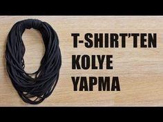 Kendin Yap: T-Shirt'ten Kolye Yapma (DIY) | Giyen Bayan