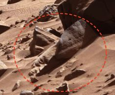 Alien Face Discovered By Mars Rover Feb 2014 UFO Sighting News. #ufosighting #ufo #sighting #history