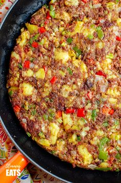 Low Syn Corned Beef Hash - an easy family friendly recipe perfect for breakfast, lunch or dinner. Gluten Free, Dairy Free, Slimming World and Weight Watchers friendly Baked Gnocchi, Gnocchi Recipes, Vegetarian Recipes, Cooking Recipes, Healthy Recipes, Corned Beef Hash, Pasta Dishes, Casserole Recipes, Food Videos