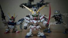 Unicorn gundam sd
