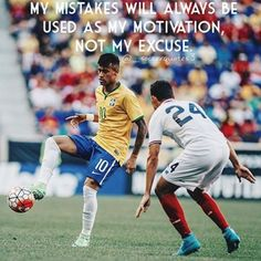 Whether a player said it, or it's just a quote on a soccer image, we compiled a list of the best soccer quotes surrounding the beautiful game. Motivational Soccer Quotes, Football Quotes, Sport Quotes, Neymar Quotes, Neymar Memes, Soccer Aid, Kids Soccer, Soccer Scores, Neymar Hot