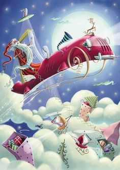 World leading Christmas artist Reuben McHugh is brilliantly represented in this gorgeous collection of whimsical and fantasy Christmas cards. When the time come