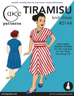 Cake patterns dress