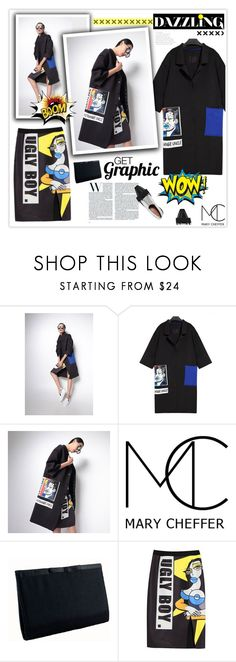 """""""Get Graphic!"""" by mcheffer ❤ liked on Polyvore featuring Marni"""