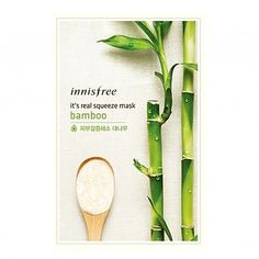 [Innisfree] it's real squeeze Mask Sheet bamboo 20ml