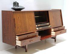 vintage Danish modern credenza - Against Gallery
