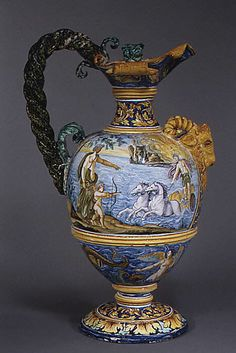 1680 French Ewer (one of two) at the Metropolitan Museum of Art, New York