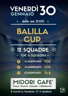 Flyer Midori- Balilla Cup 30 Gennaio