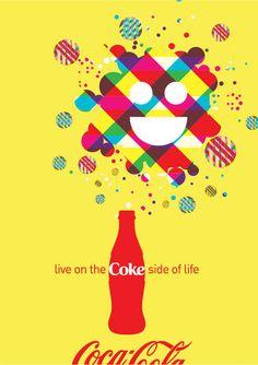The Coke Side of Life by Josh Boston, via Behance