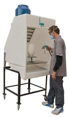 spray booth~