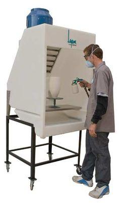 spray booth~
