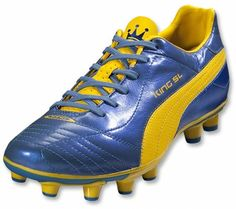 Puma King SL - Blue Metallic   Dandelion - 2012 Soccer Gear bb9932c0cb