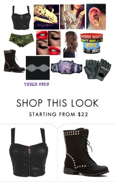 """""""WWE Diva"""" by jonas-bros02 ❤ liked on Polyvore featuring Rothco, WWE and TotalDivas"""
