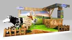 VINAMILK | Booth 4x2 concept on Behance