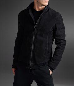 Image result for men's armani leather jacket