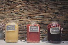 Barra o mesa de sangrías: excelente forma de adaptar las ideas USA al sabor SPAIN (diseño, Fueron Felices)