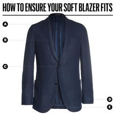 Here's How Your Soft Blazer Should Fit