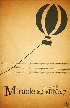 Miracle in Cell No. 7 (2013) ~ Minimal Movie Poster by Enrique Chua #amusementphile