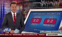 Mega Earthquake with 9.2 Tsunamis in the Pacific Northwest   - FEMA ON ALERT -
