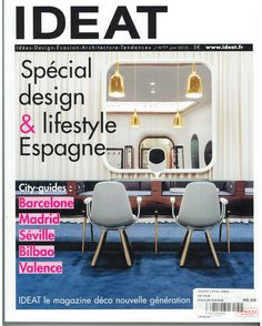 Octium Boutique on the cover of IDEAT Magazine, FRANCE