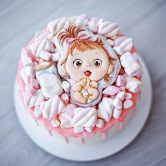 Какие же они сладкие молочные булочки!!! Это такое мимолётное и короткое время до 1 года, но такое милое и нежное... Тортик…