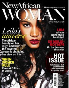 New African Woman magazine, Feb-March 2012, International cover