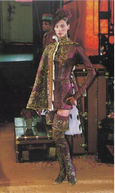 1998-99 - Galliano 4 Dior Couture show - Olga #baroque