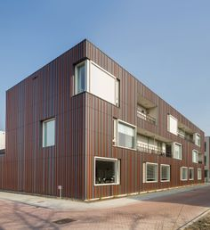 EQUITONE facade materials. Care center in Belgium #architecture #material #facade www.equitone.com