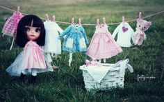 A Doll A Day. Jan 30. French Laundry. by fortydollywinks ❤, via Flickr