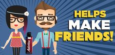 #Adiction helps make friends!