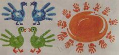 Рисование для малышей красками