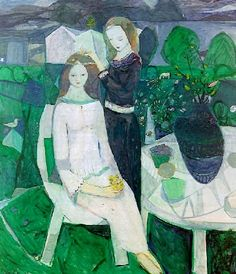 Kai Fjell  - Norwegian painter , engraver and designer, born in 1907-1989 ; He has developed an ornamental expressionism, and his paintings are strongly ...