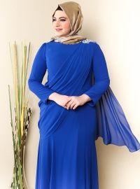 Plus Size Evening Dresses with Black Lase