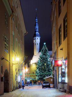 Tallinn, Estonia... Absolutely beautiful.