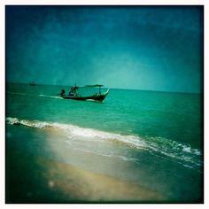 Longtail-boat