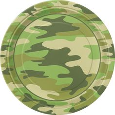 Camouflage Party Plates diameter in packs of 8 Camo Birthday, Boy Birthday Parties, Birthday Ideas, 5th Birthday, Party Napkins, Party Plates, Dessert Plates, Dinner Plates, Camo Party Supplies