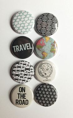 Around the World 2 Flair by aflairforbuttons on Etsy