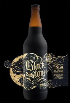 Blackstone porter for driftwood brewery 13 productive packaging design trends 2020 Beverage Packaging, Bottle Packaging, Bottle Labels, Coffee Packaging, Wine Labels, Food Packaging, Beer Bottles, Packaging Ideas