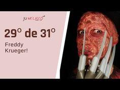 29º de 31º- Maquiagem Freddy Krueger -Tutorial - Halloween 2020 - YouTube Freddy Krueger, Make Do, My Works, Beef, Youtube, Meat, Freddy Krueger Mask, Youtubers, Youtube Movies