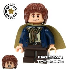 Lego Pippin!  I love the expression on the other head