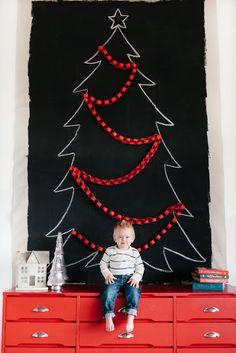 Giant Chalkboard Tree