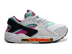 Nike Huarache Run (PS) Chaussure Nike Sportswear Pas Cher Pour Enfant Blanc/Violet 704951-103