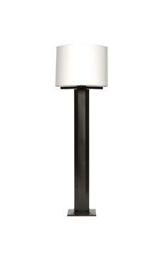 Hexagon Floor Lamp Industrial, Traditional, MidCentury Modern, Metal, Floor Lamp by Vica